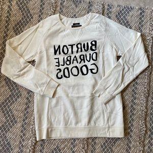 BURTON women sweater size S